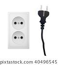 outlet, electric, socket 40496545