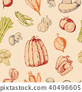 vegetables,vector,background 40496605