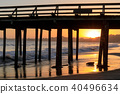 Sunset over Seacliff State Beach 40496634