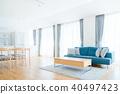 室内装饰 室内设计 客厅 40497423