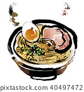 ramen, noodles, food 40497472