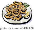 章魚圈 墨魚 烏賊 40497478