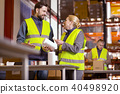 storage workers packing 40498920