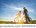 mountain, couple, bicycle 40499940