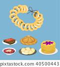 illustration, vector, food 40500443