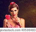 lollipop, female, woman 40500483