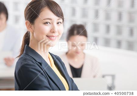 웃는 얼굴, 미소, 비즈니스우먼 40500738
