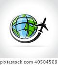 travel, icon, plane 40504509