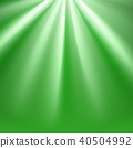 Green polar rays with flare 40504992