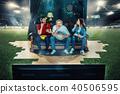 audience, football, soccer 40506595