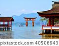 Itsukushima Shinto shrine 40506943