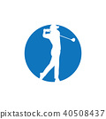 Golf logo graphic design 40508437