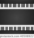 piano, music, background 40508922