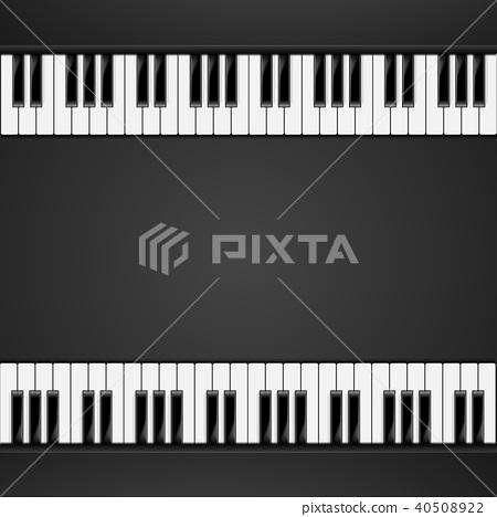 bg_piano_keys_06 40508922