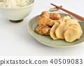 醃菜的菊花 40509083
