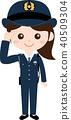 人職業製服(女)警務人員 40509304