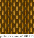 wheat pattern seamless 40509713