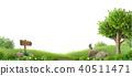 Banner natural fantasy landscape 40511471