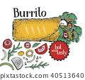 burrito, mexican, cuisine 40513640