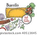 burrito, mexican, cuisine 40513645
