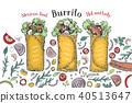 burrito, mexican, cuisine 40513647