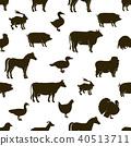 农场 动物 矢量 40513711