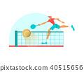 tennis player athlete 40515656