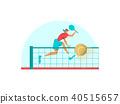 tennis player athlete 40515657