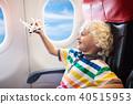 비행기, 어린이, 애 40515953