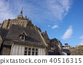 Mont Saint Michel with good weather 40516315