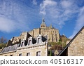 Mont Saint Michel with good weather 40516317