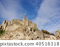 Mont Saint Michel with good weather 40516318