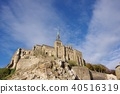 Mont Saint Michel with good weather 40516319