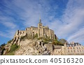 Mont Saint Michel with good weather 40516320