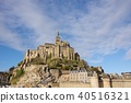 Mont Saint Michel with good weather 40516321