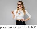 Attractive secretary in formal clothes 40516634