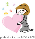 หัวใจ,ผู้หญิง,หญิง 40517129