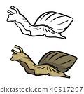 snail vector illustration sketch doodle 40517297