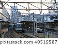 kyoto station, electric train, train 40519587