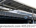 bullet train, shinkansen, kyoto station 40520147