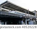 bullet train, shinkansen, kyoto station 40520228