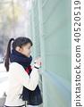 학생, 여고생, 여자 고등학생 40520519