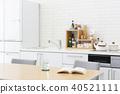 室内装饰 室内设计 厨房 40521111