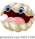 Cartoon oyster 40521346