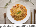 義大利 麵條 香腸 40521406