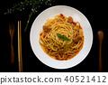 義大利 麵條 香腸 40521412