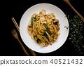 麵條 植物 裝飾 40521432