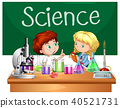 Students in the Science Class 40521731