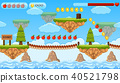 A Jumping Game Template Island Scene 40521798