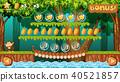 A Game Template Jungle Scene 40521857
